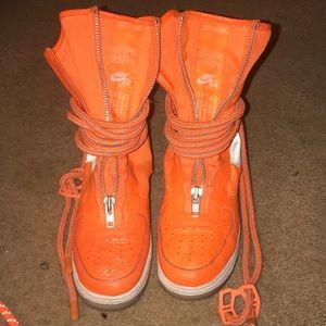 SF Air Force 1 High 'Total Orange'